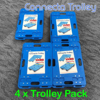 Connecta Trolley - 4 Pack