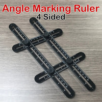 Four Sided Angle Marking Ruler