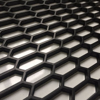 ABS Plastic Car Grille Mesh Hex Design (Large)