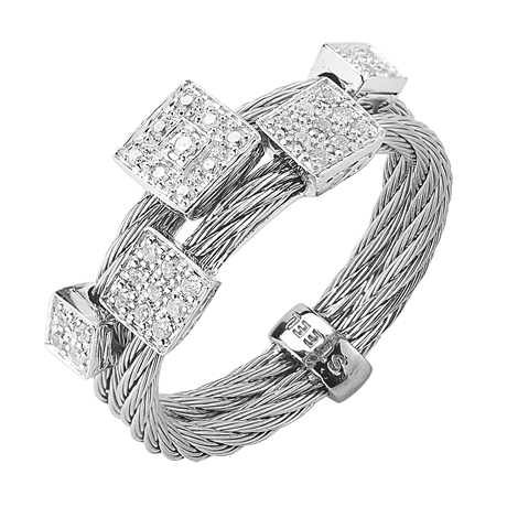 CHARRIOL DIAMOND DOUBLE BAND