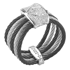 CHARRIOL DIAMOND CABLE RING