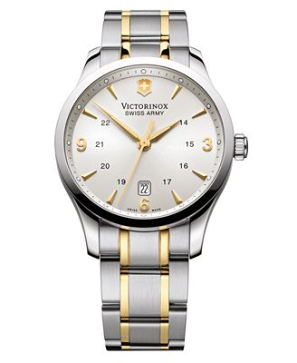 Victorinox Swiss Army Men's 241477 Stainless Steel Two-Tone Watch