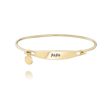 CHAMILIA XOXO ID GOLD BANGLE