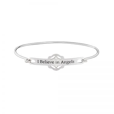 CHAMILIA I BELIEVE IN ANGELS ID BANGLE