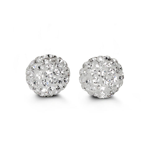 Bella Collection - CZ Goldball Stud Earrings
