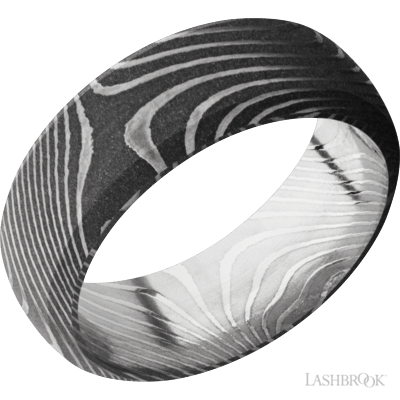 LASHBROOK - Domed Bevel Damascus Steel