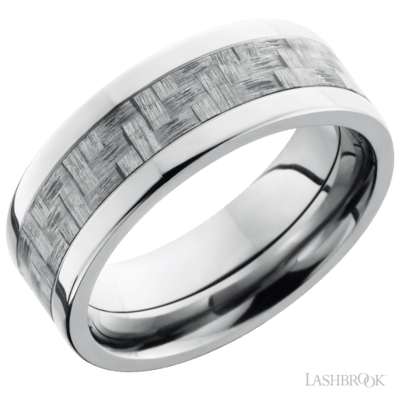 LASHBROOK - Titanium w/Carbon Fibre Inlay