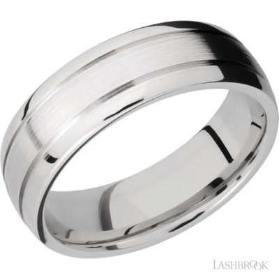 LASHBROOK - Domed w/Grooves Cobalt Chrome