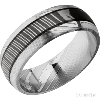 LASHBROOK - Domed Damascus Steel