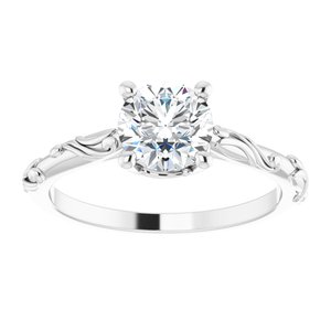 """Lily"" Tany's Custom Bridal, 1.00ct Centre"