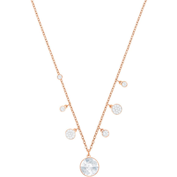 SWAROVSKI -   LUCY ROUND NECKLACE
