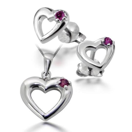 Legend Sterling Silver Birthstone Set - July