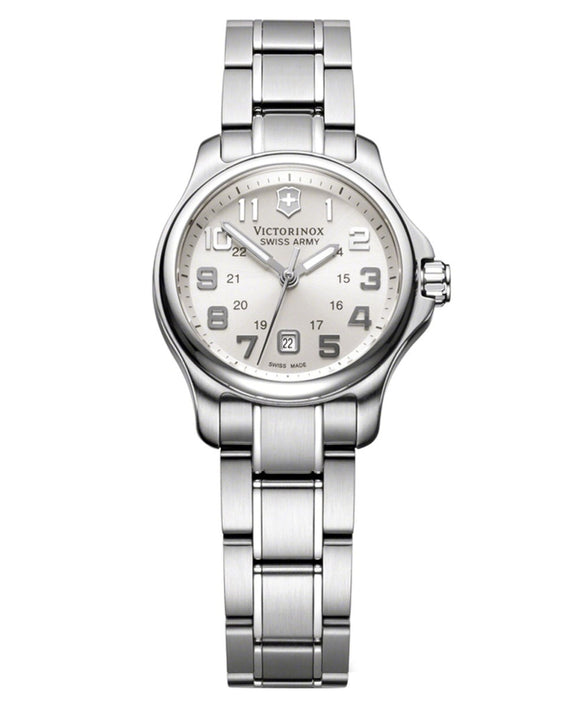 Victorinox Swiss Ramy Ladies 241457 Officer's XS Silver Dial Watch
