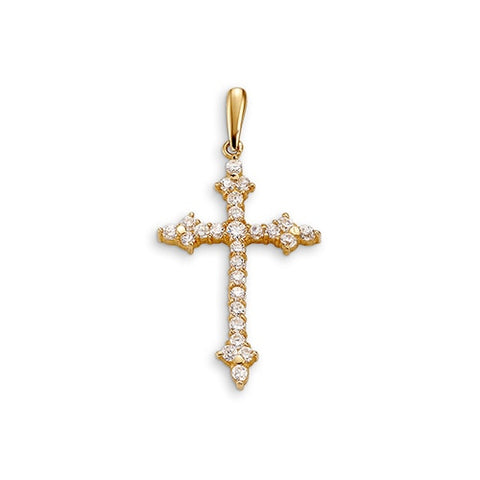 Bella Faith Collection - Yellow Gold Cross