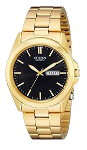 CITIZEN Gold-tone QUARTZ BF0582-51F