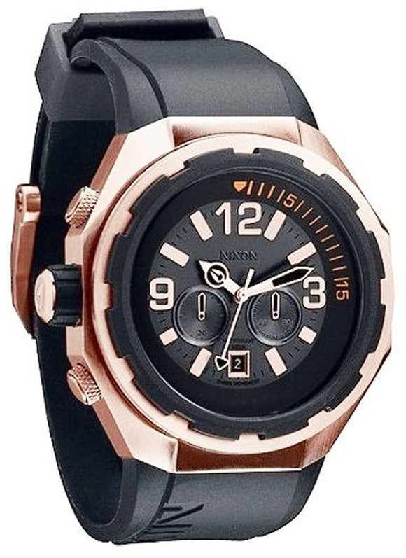 NIXON Steelcat Rose Gold / Black A313-1098-00
