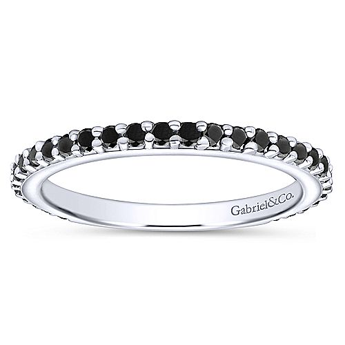 Gabriel & Co. - Black Diamond - Stackable Collection