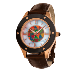KORITE Ammolite Ladies Watch, Contempra Collection