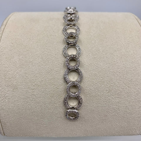 1.75ct White Gold Diamond Tennis Bracelet