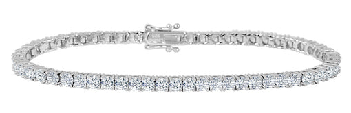 Legend Sterling Silver Tennis Bracelet