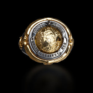 "Capitan Collection ""World's Greatest Dad Ring"" Ring"