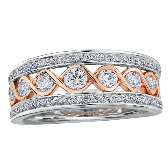 Maple Leaf Canadian Diamond Band