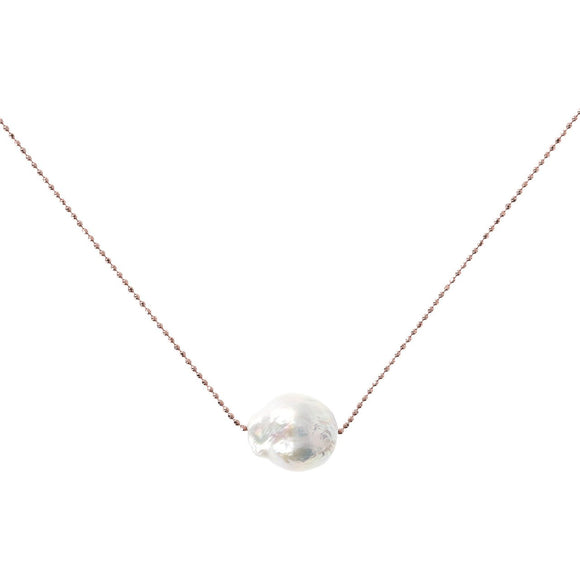 Bronzallure - Ming Pearl Sliding Necklace