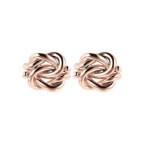 Bronzallure - Knot Stud Earrings
