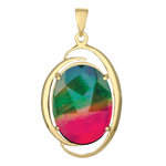KORITE Rosalind (Royal) 14K Yellow Gold Pendant