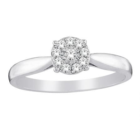 Promise Rings - Illusion Setting Ring