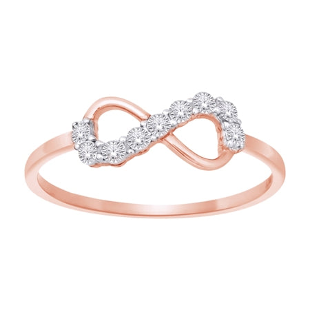 Promise Rings - Rose Gold Infinity Ring
