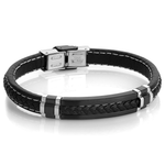 ITALGEM ARTIS LEATHER BRACELET