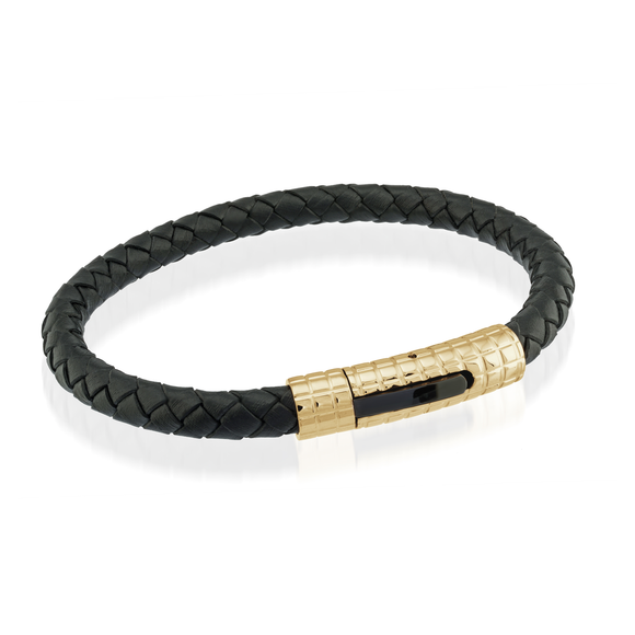ITALGEM LEV LEATHER BRACELET