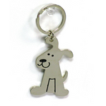 DOG KEYCHAIN - ENGRAVABLE