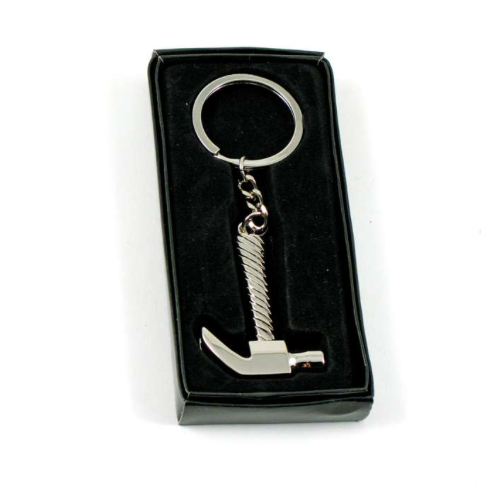 HAMMER KEYCHAIN - ENGRAVABLE