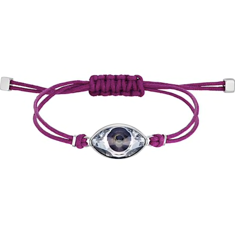 SWAROVSKI POWER COLLECTION EVIL EYE BRACELET, PURPLE