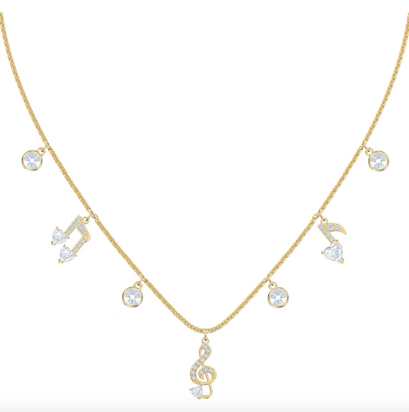 SWAROVSKI - PLEASANT NECKLACE, WHITE
