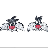 SWAROVSKI - LOONEY TUNES SYLVESTER CUFF LINKS
