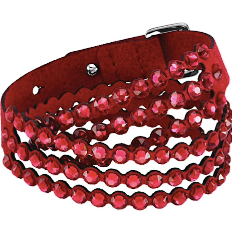 SWAROVSKI POWER COLLECTION BRACELET, RED