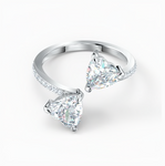 SWAROVSKI ATTRACT SOUL HEART RING