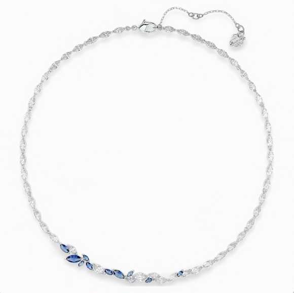 SWAROVSKI - LOUISON NECKLACE, BLUE