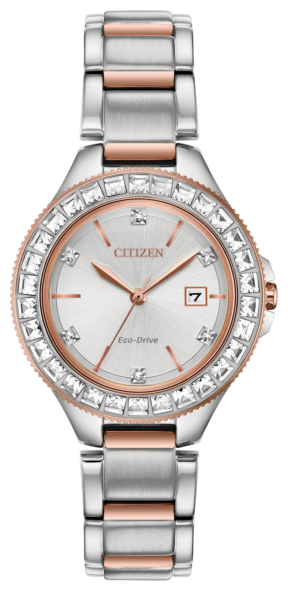 CITIZEN SILHOUETTE CRYSTAL FE1196-57A