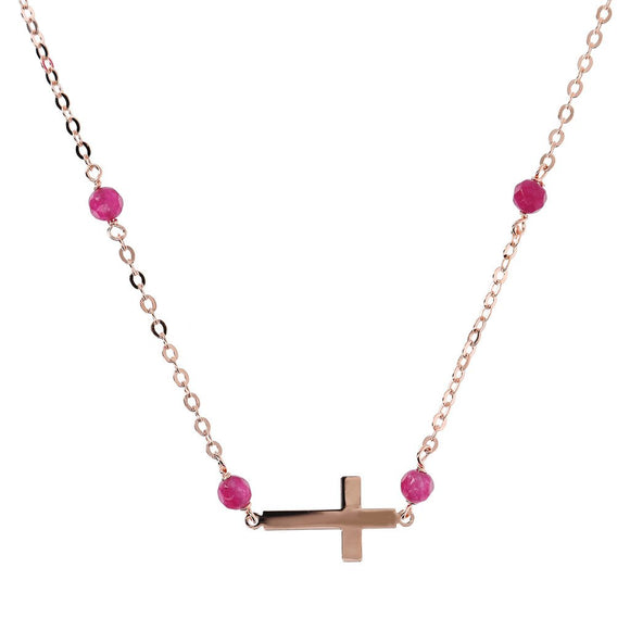 Bronzallure - Rosary Necklace