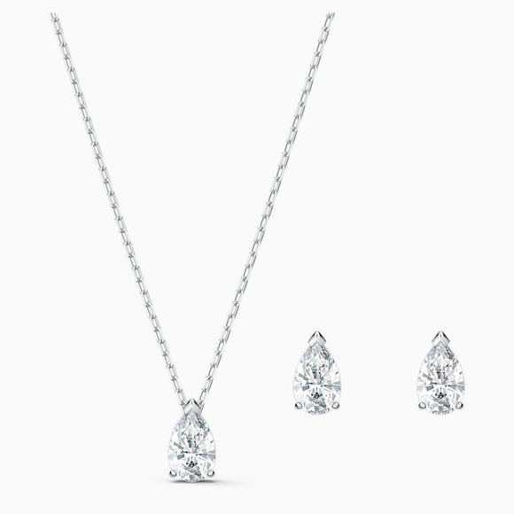 SWAROVSKI ATTRACT PEAR SET