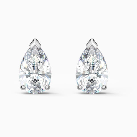 SWAROVSKI - ATTRACT PEAR STUD PIERCED EARRINGS
