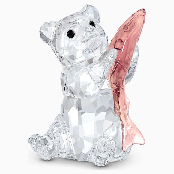 SWAROVSKI BEAR WITH FISH