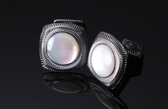 William Henry Mother of Pearl Cufflinks