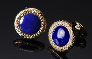 William Henry Lapis Lazuli Cufflinks