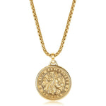 ITALGEM SAINT CHRISTOPHER MEDALLION