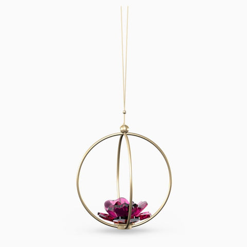 SWAROVSKI GARDEN TALES ROSE BALL ORNAMENT